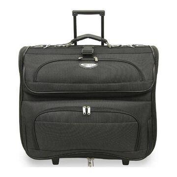 Traveler's Choice Amsterdam Rolling Garment Bag TS-6944 Dark Gray - US One Size (Size None)