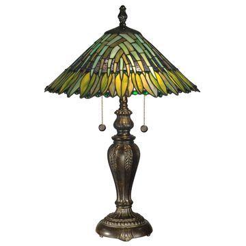 Dale Tiffany Leavesley Table Lamp