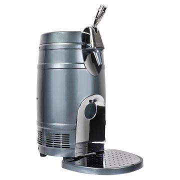 Koolatron Mini Beer Keg Cooler with Dual Taps, 5 L