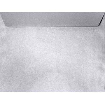 6 x 9 Booklet Envelopes - Silver Metallic (500 Qty.)