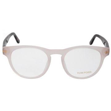 Tom Ford FT5426 72 Round   Translucent Pink  Eyeglass Frames