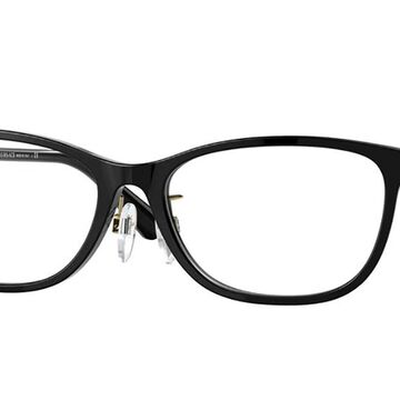 Versace VE3297D Asian Fit GB1 Womens Glasses Black Size 55 - Free Lenses - HSA/FSA Insurance - Blue Light Block Available