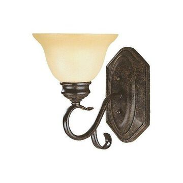 Millennium Lighting Devonshire Sconce, Burnished Gold