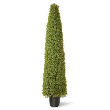 """National Tree Company 72"""" Artificial Boxwood Tree, Green"""