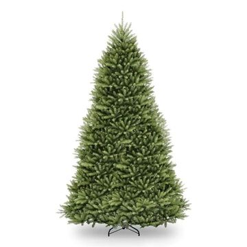 National Tree Company 12-ft Traditional Artificial Christmas Tree with Constant Clear Incandescent Lights | DUH-120