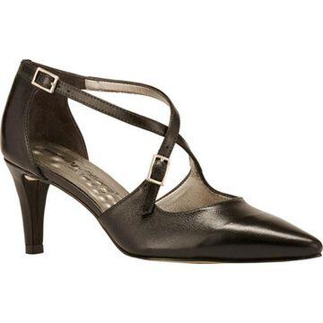 Walking Cradles Women's Stella Pump Black Leather