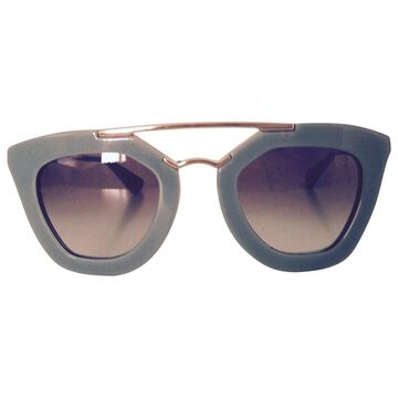 Prada Green Plastic Sunglasses