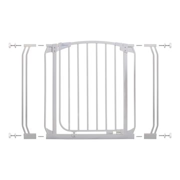 Dreambaby& Chelsea Auto Close Stay Open Security Gate Value Pack in White