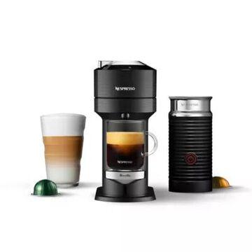Nespresso by Breville Vertuo Next Premium Coffee Machine with Aeroccino in Black