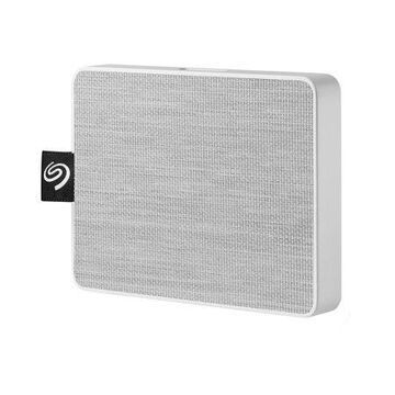 Seagate 1TB One Touch SSD External Solid State Drive Portable USB 3.0 (White)