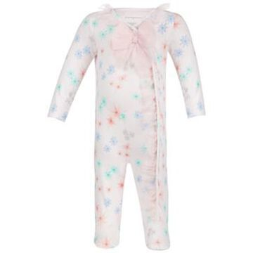 First Impressions Baby Girls Floral Tulle Coveralls, Created for Macy's