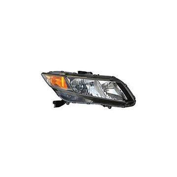 Headlight - Depo For/Fit 33100TR0A01 12-12 Honda Civic Coupe/Sedan Right Hand NSF
