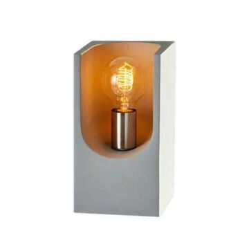 Adesso Clyde Table Lantern In Grey