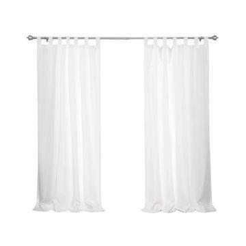 Aurora Home Outdoor Tab Top Curtain Panel Pair