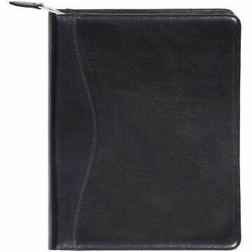 Scully Genuine Leather Zip Planner And Letter Pad, 8.5 x 11 in. (Planner and Pad), 5014Z-06-24-F