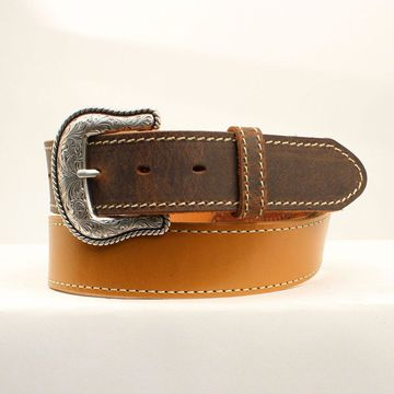 Nocona N2301148-46 Lubbock USA Belt, Natural - Size 46