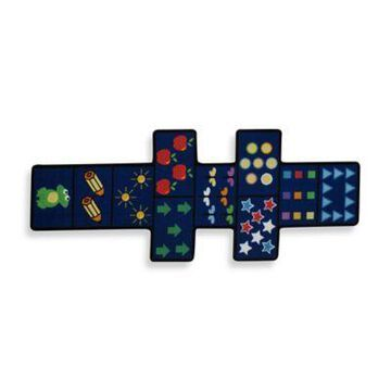 Fun Rugs Hopscotch with Counter Rug