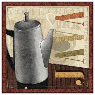 PTM Images Coffee Pot I Framed Canvas Art, 41.75