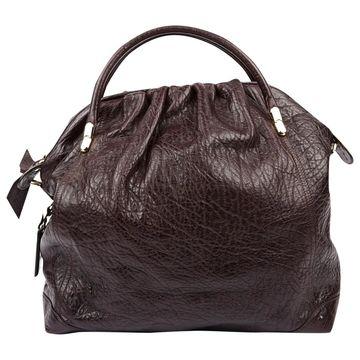 Nina Ricci Brown Leather Handbags
