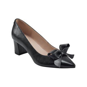 Bandolino Women's Cori Block Heel Pointy Toe Pumps Women's Shoes