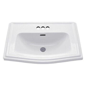 Toto, Bathroom Sink, Cotton, 18.25