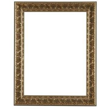 Antique Champagne Open Back Frame by Studio Decor
