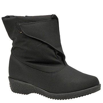 Toe Warmers Womens Easy On Closed Toe Ankle Fashion Boots