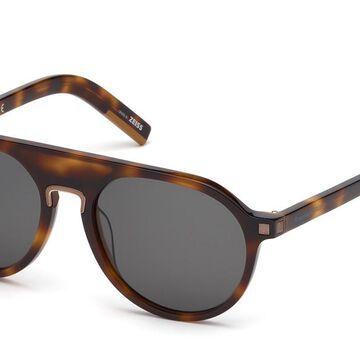 Ermenegildo Zegna EZ0123 52A Men's Sunglasses Tortoiseshell Size 55