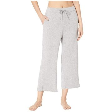 Majestic Filatures French Terry 3/4 Pants (Gris Chine) Women's Casual Pants