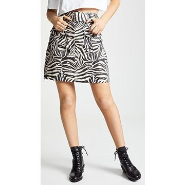 Zimmermann Corsage Safari Miniskirt