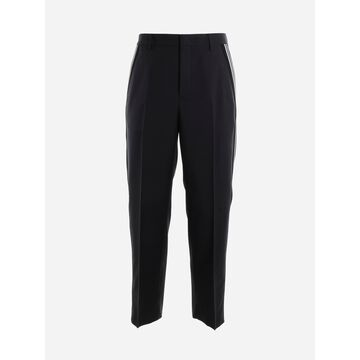 Valentino Trousers With Contrasting Side Bands