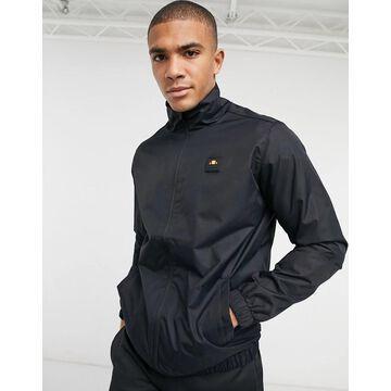 ellesse Lazzarato zip-up jacket in black