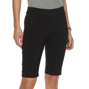 Petite Napa Valley Pull-On Skimmer Shorts