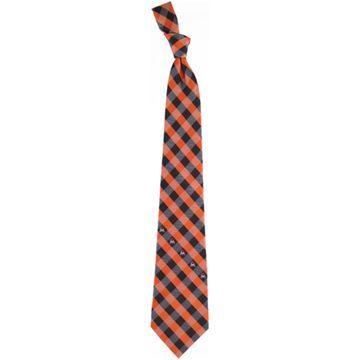 Miami Marlins Woven Checkered Tie