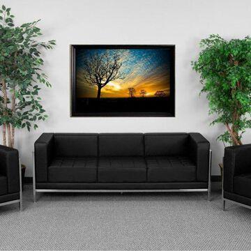 Flash Furniture Black Lounge Set