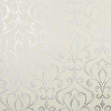 Kenneth James Sparkle 56-sq ft Pewter Non-Woven Damask Unpasted Wallpaper in Gray   2542-20755