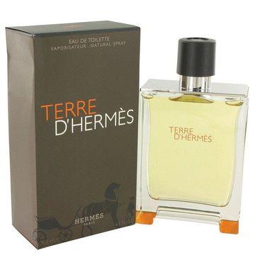 Terre D'Hermes by Hermes Eau De Toilette Spray 6.7 oz for Men (Package of 2)