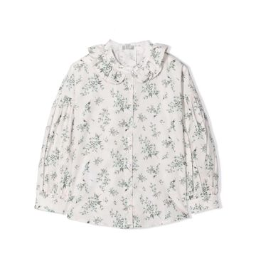 Il Gufo Flowered Shirt