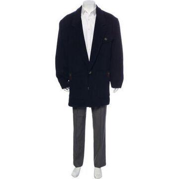 Wool-Cashmere Coat navy