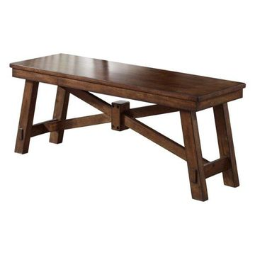 Liberty Furniture Creations II Dining Bench in Tobacco