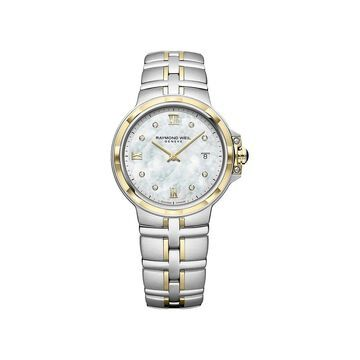Raymond Weil Women's 5180-STP-00995 'Parsifal' Two-Tone Stainless Steel Watch