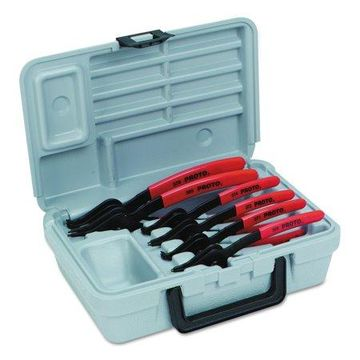 Proto Convertible Retaining Ring Pliers Sets, 90; Straight Tip