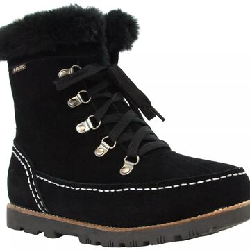 Lamo Suede Lace-Up Boots - Taylor