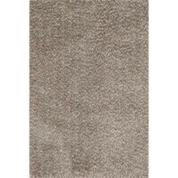 Alexander Home London Hand-tufted Textured Plush Shag Rug (Light Brown/Multi 7'6