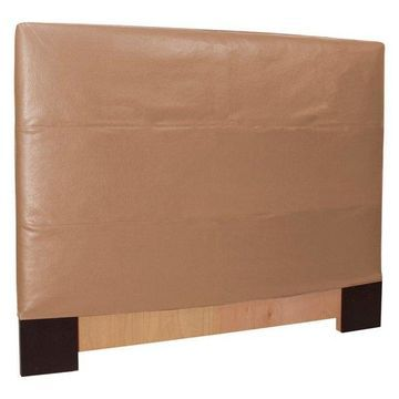 Howard Elliott Avanti King Slipcovered Headboard, Bronze