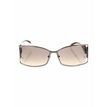 Oversize Gradient Sunglasses Grey