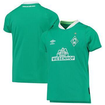 SV Werder Bremen Umbro Youth 2019/20 Home Replica Jersey - Green/White