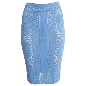 La Perla Blue Viscose Skirts