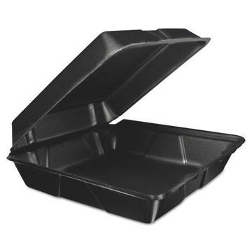 Dart Foam Hinged Lid Container