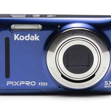 ''Kodak FZ53-BL Point and Shoot Digital Camera with 2.7'''' LCD, Blue''